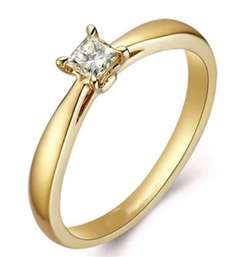 Attractive GIA Certified Cheap Solitaire Wedding Ring 0.25