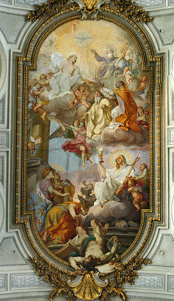 File:San Gregorio al Celio - affresco soffitto - antmoose.jpg