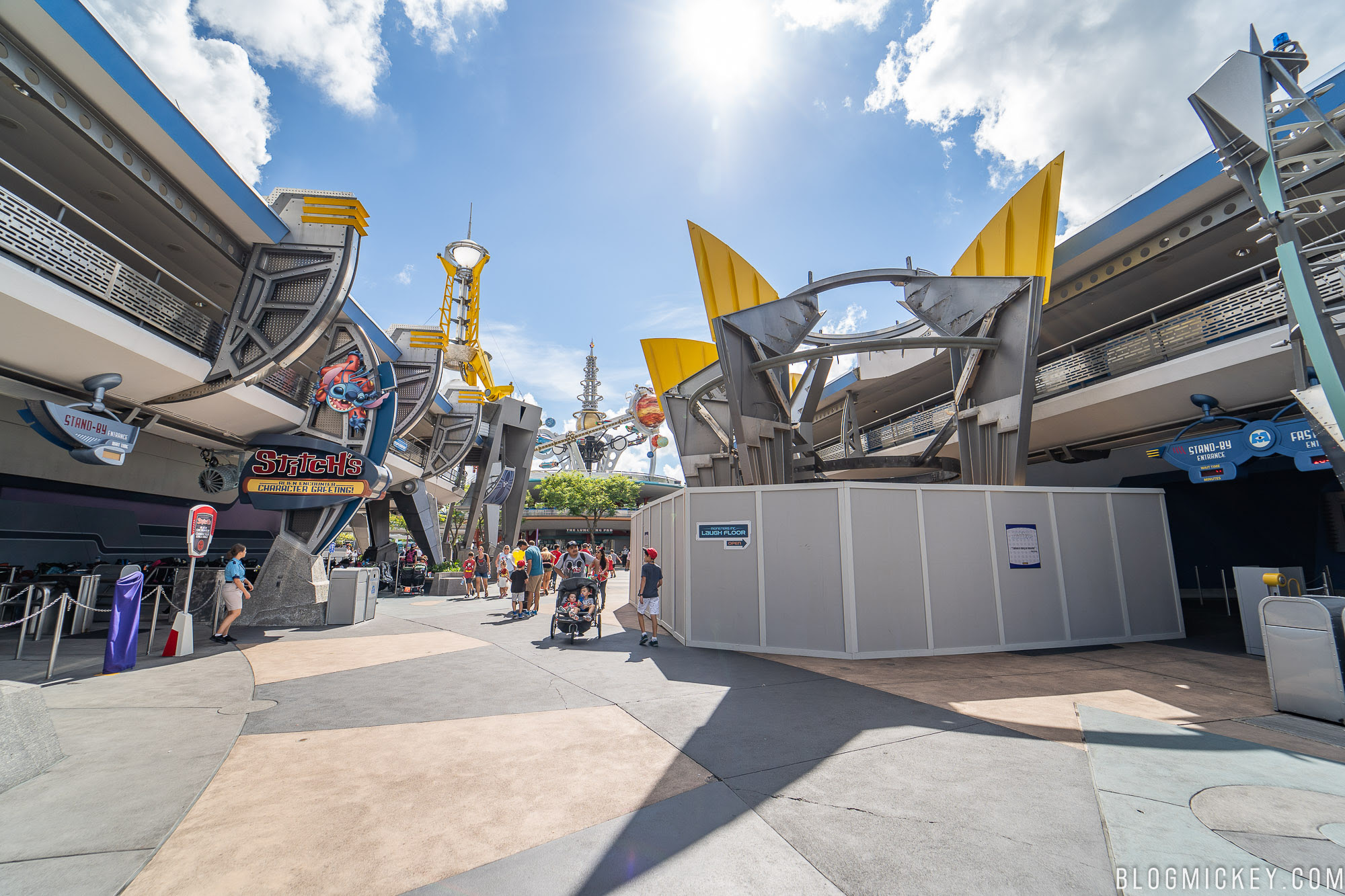 Photos Monsters Inc Laugh Floor Facade Demolition And More