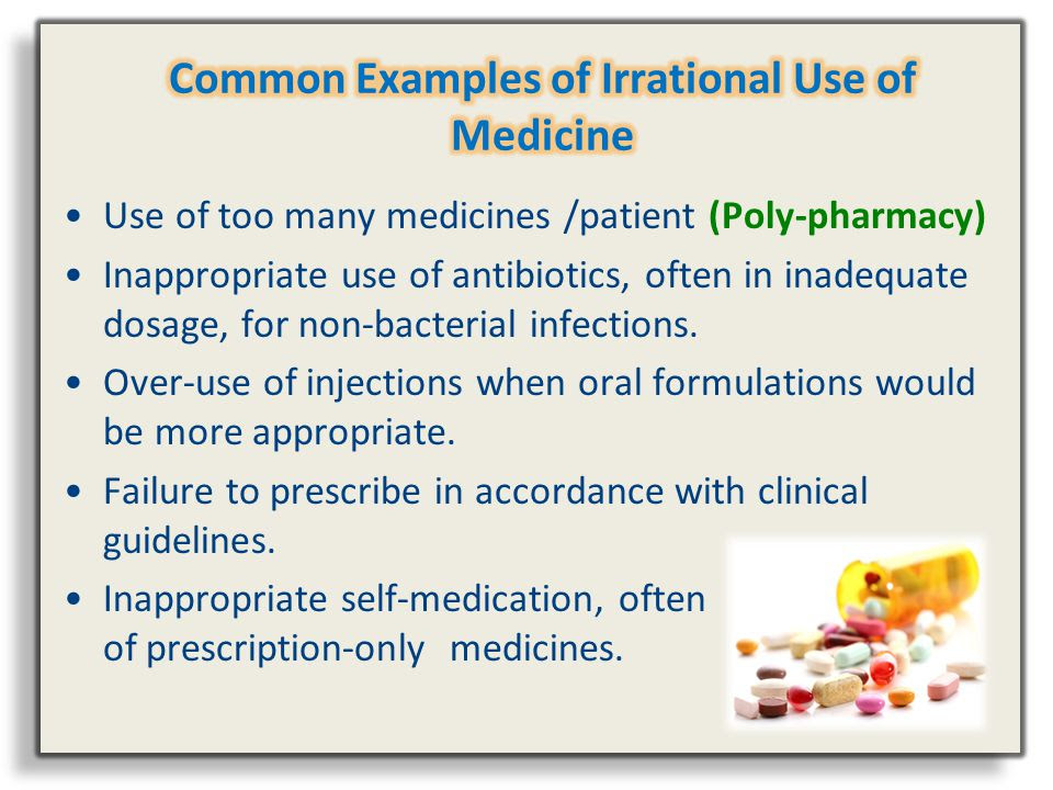 Image result for irrational use of medicine