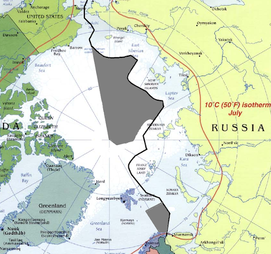 Great Powers Prepare For Battle In The Arctic - Tsarizm