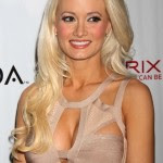 Long Platinum Blonde Hairstyle with Layers - Holly Madison's Long Hairstyle