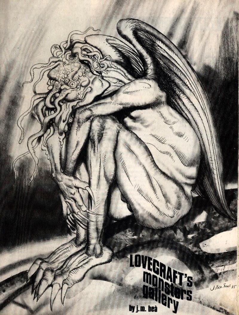 Josep M. Beá - Lovecraft Monster Gallery - 2