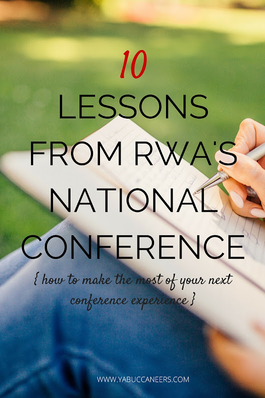 10 Lessons Learned from Attending RWA's National Conference