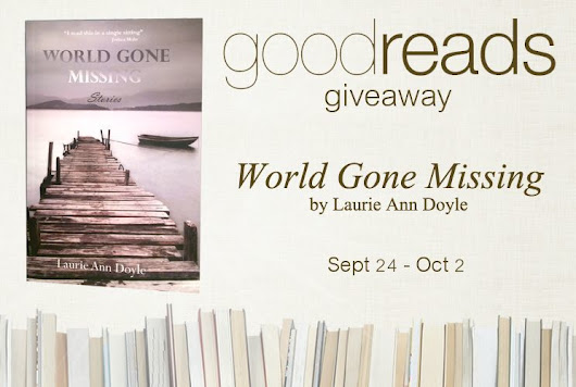 World Gone Missing Goodreads Giveaway