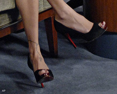 The ankle bracelet like Nicole Richie's has become popular with the ladies.
