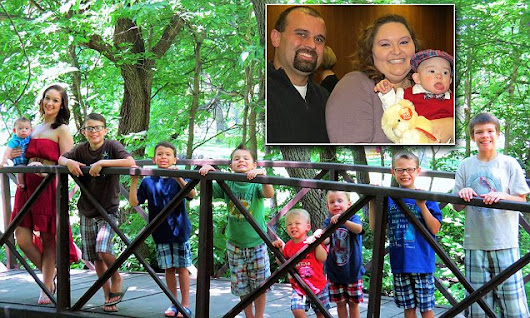 Couple adopt two boys and then agree to adopt SIX more