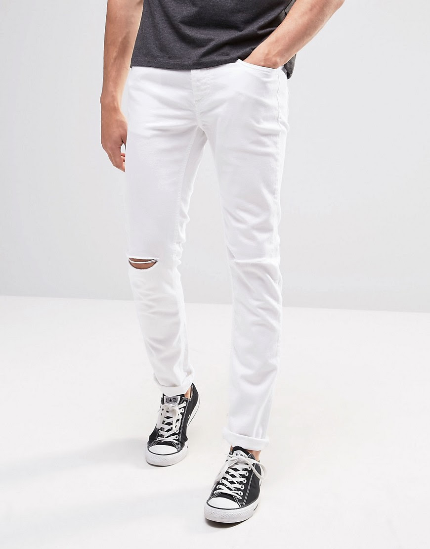 Colors of Benetton  United Colors of Benetton White Skinny Fit Jeans
