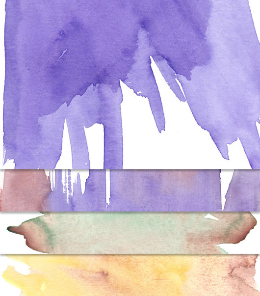 Free Download: Watercolor Textures | Vandelay Design Blog