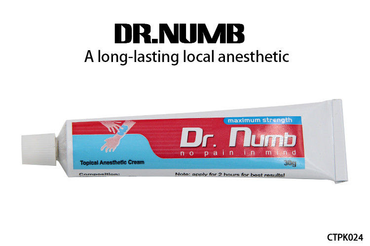 Topical Tattoo Anesthetic Cream Dr Numb Cream With 5 Lidocaine