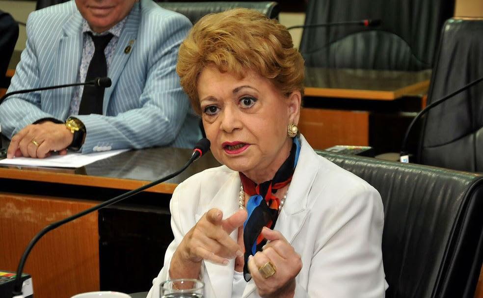 Wilma de Faria morreu na noite de quinta (15) (Foto: Elpídio Junior/CMN)