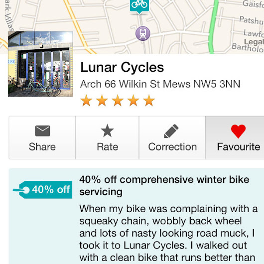 Walkthrough of the new, free London Cyclist app