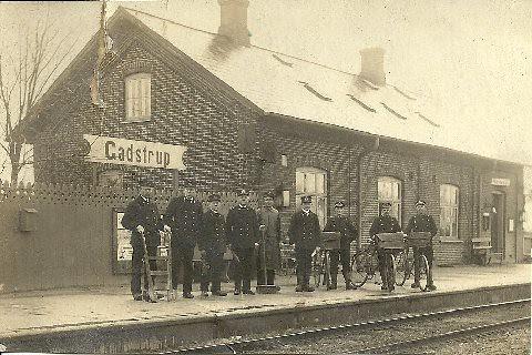 Gastrup train station