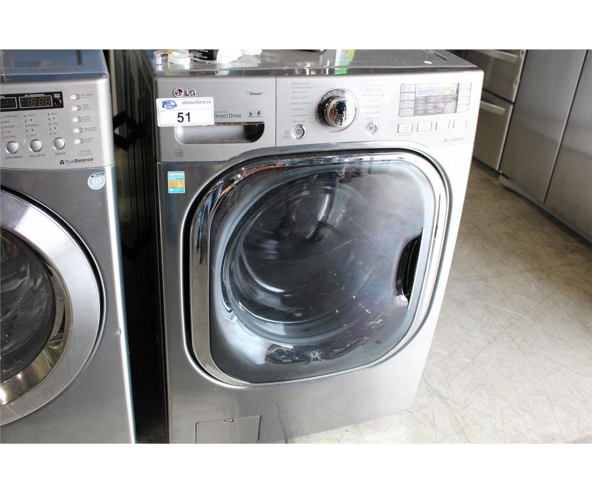 LG STEAM INVERTER DIRECT DRIVE FRONT LOAD WASHER