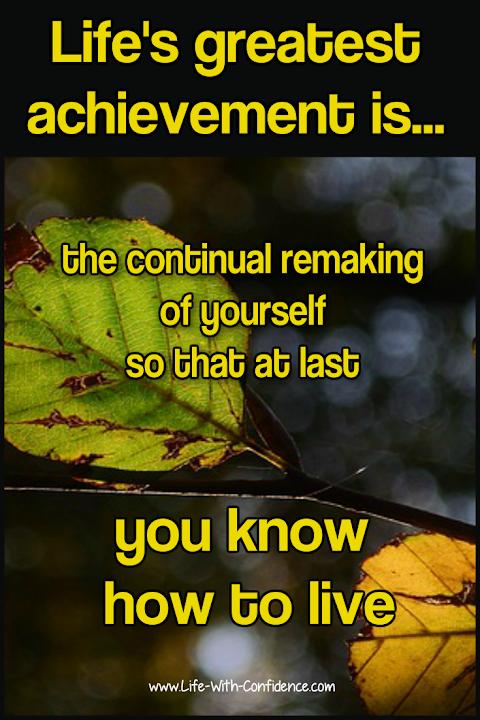 Best Life Achievement Quotes