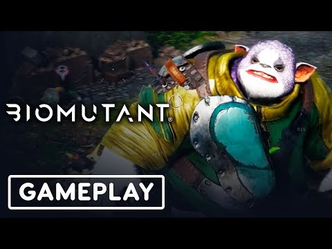 Biomutant - Official PlayStation 4 Pro and Xbox One X Gameplay
