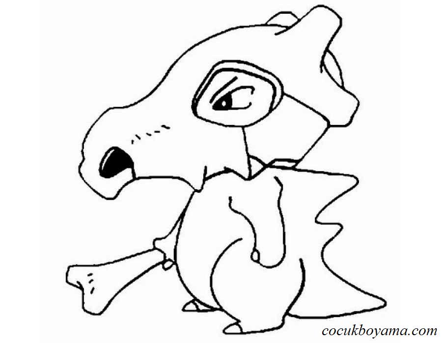 Pokemon 59 ücretsiz Boyama Resimleri