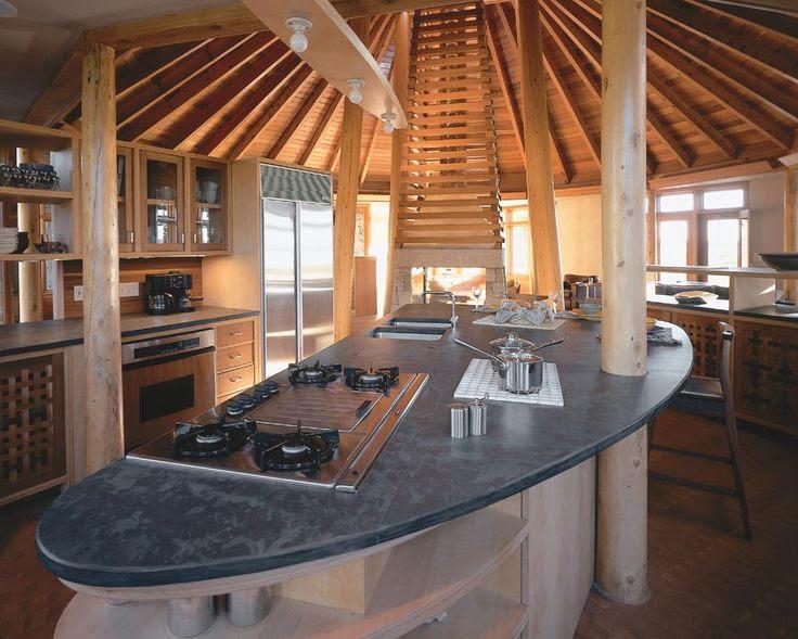fancy yurt kitchen!   yurt love   Pinterest