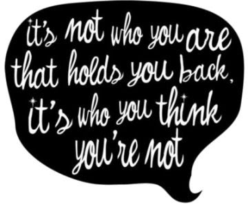 ...who you are...