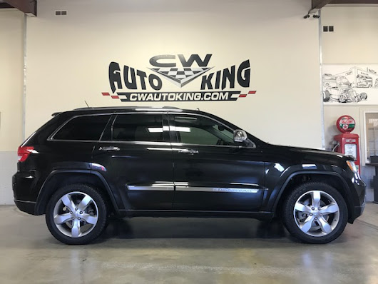 JEEP Grand Cherokee Limited / 4x4 / Hemi / Leather / Nav./ Panoramic Roof / Rear Camera / Finance / 2011 | CW Auto King
