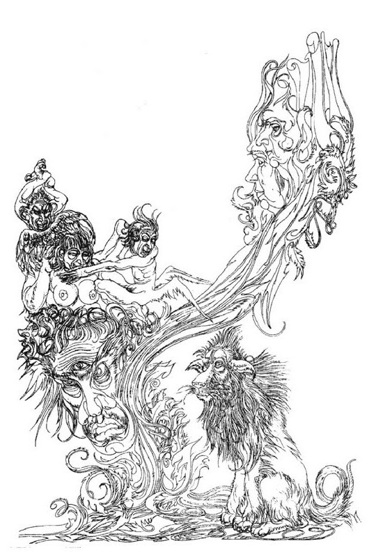 Austin Osman Spare, drawing 3