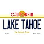 Smart Blonde M-9623 Lake Tahoe California Background Novelty Metal Magnet - 3.5 x 2 in.