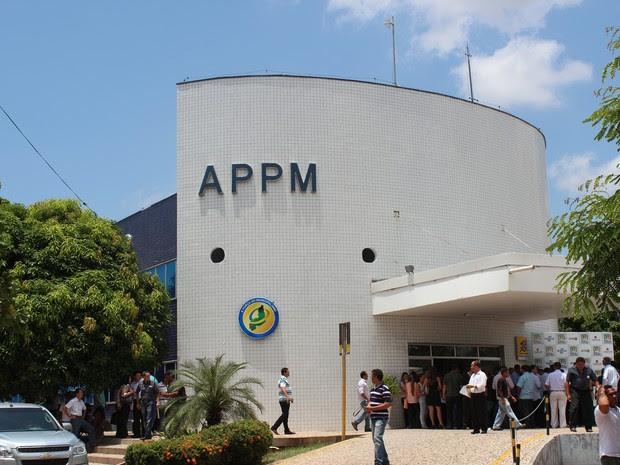 Sede da Associação Piauiense de Municípios do Piauí  (Foto: Patrícia Andrade/G1)
