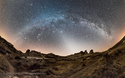 A Starry Night in the Badlands
