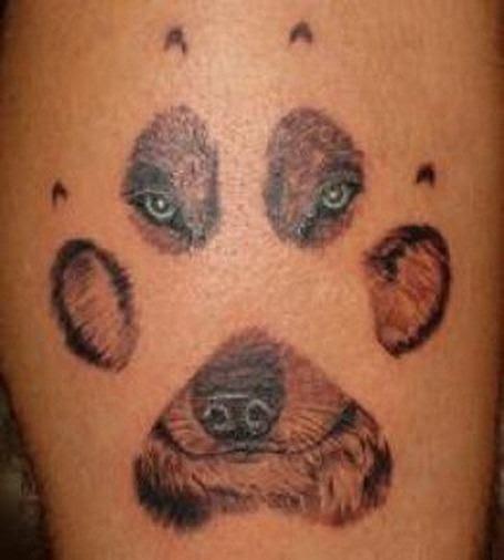 Tatuajes De Huellas De Perro Tendenziascom