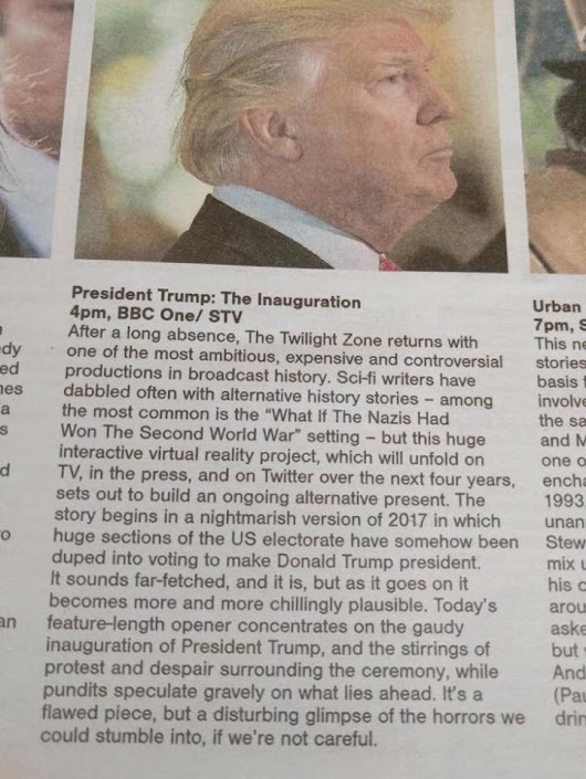 "Pippa Musgrave auf Twitter: ""@DAaronovitch Today's Sunday Herald TV preview """