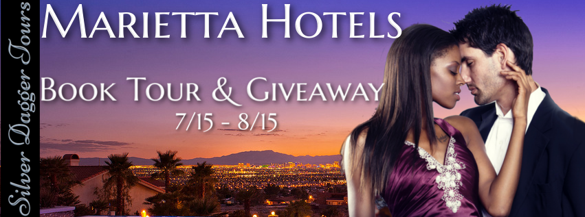 Book Tour Banner for The Marietta Hotels contemporary romance series by Rachell Nichole with a Book Tour Giveaway
