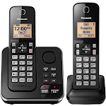 Panasonic KX-TGC362 Expandable Cordless Phone with Handset - Black