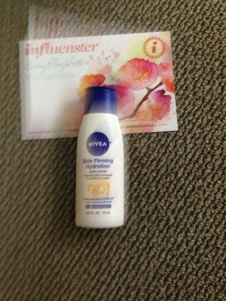 Love at first tweet! The best things in life are free from @Influenster #SpringVoxBox #NIVEASkinFirming @Nivea Maria Maximiano USA