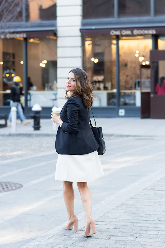What to Wear to Work | Peplum Dress