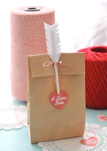 упаковка подарка, день св. валентина,