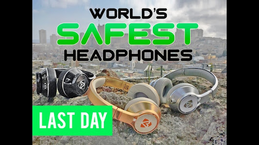 Update 17: Stress Test Success. Mass Production has Begun! · 16-Year-Old Designs AEGIS Headphones to Prevent Hearing Loss