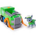Paw Patrol Rocky's Transforming Recycle Truck with Pop-Out Tools and Forklift
