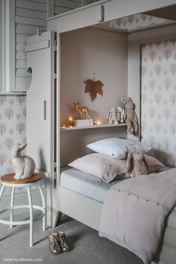 grey girls bedroom interior design charlotte4