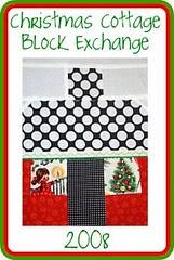 Christmas Cottage Block Exchange Swap
