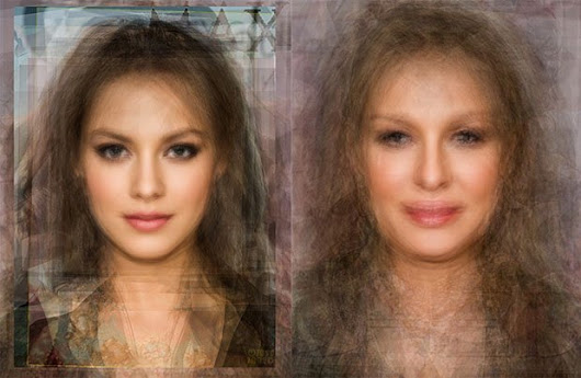 What Averaged Face Photographs Reveal About Human Beauty - PetaPixel