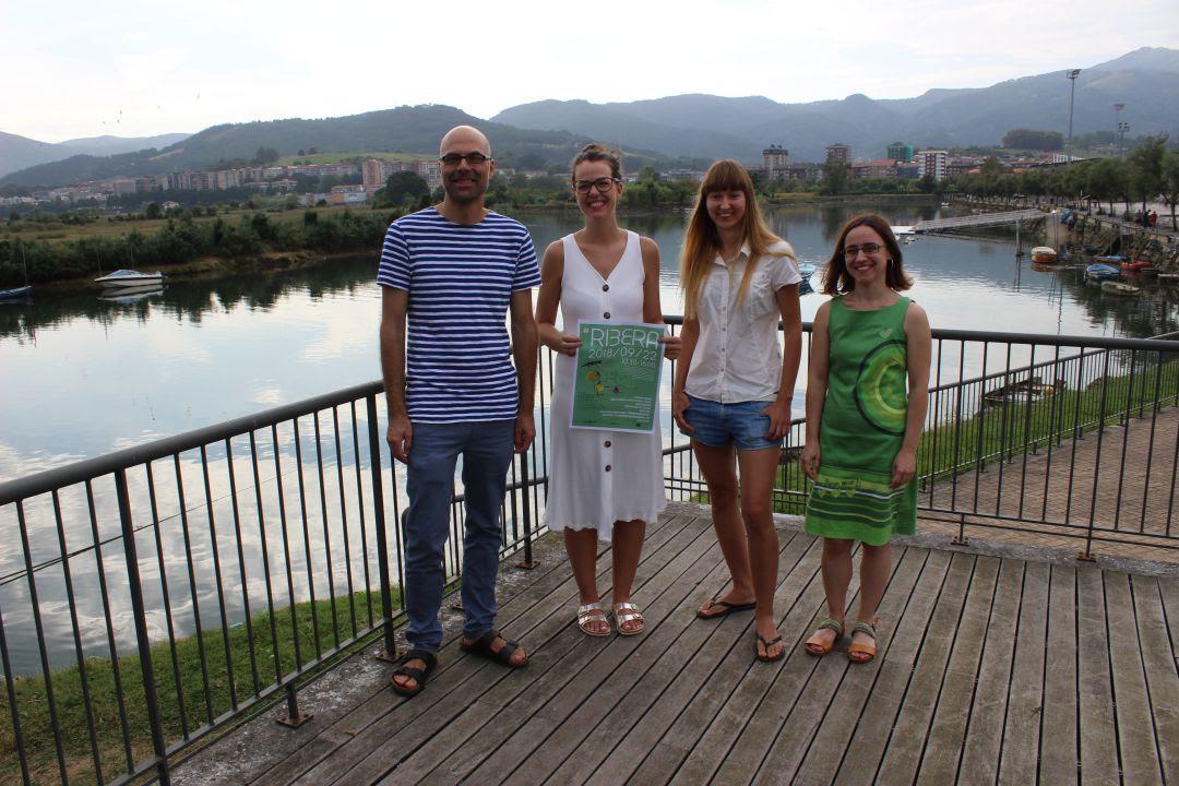 El río Bidasoa y la frontera, desde el arte contemporáneo