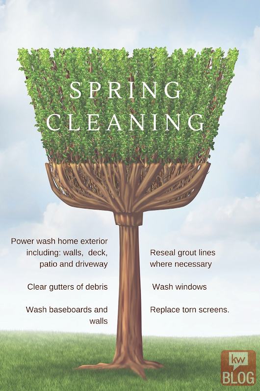 Spring cleaning tips to sell your house