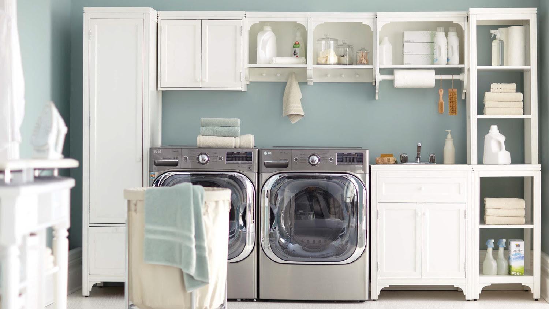 12 Essential Laundry Room Organizing Tips Martha Stewart