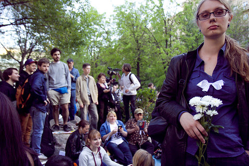 Оккупайабай на Чистопрудном бульвале. Народные гуляния против Путина. Москва 10 мая 2012 by hegtor