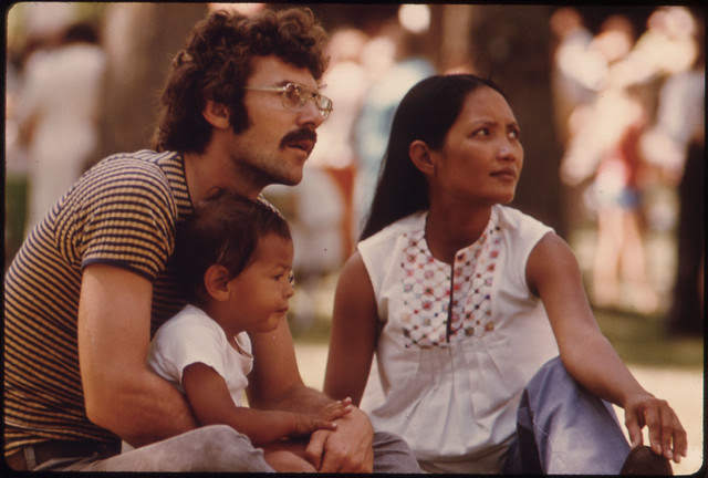 Family Enjoys a Fourth of July Holiday in a Park at Sleepy Eye, Minnesota, Which Is 12 Miles West of New Ulm...