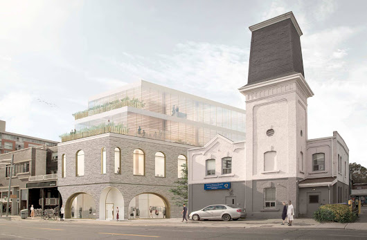 This is what might replace a 130 year old building on Ossington
