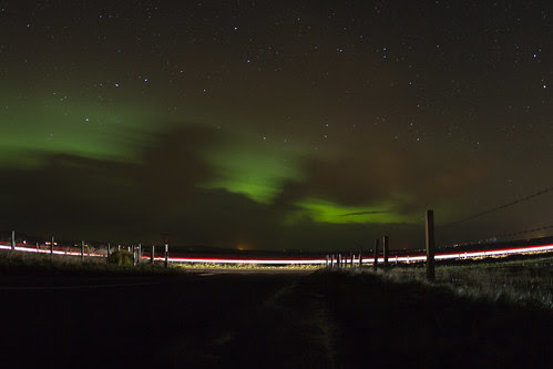 Northern Lights in Orkney