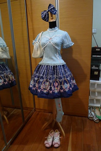 Mannequin Snap: Casual Blue Perfume