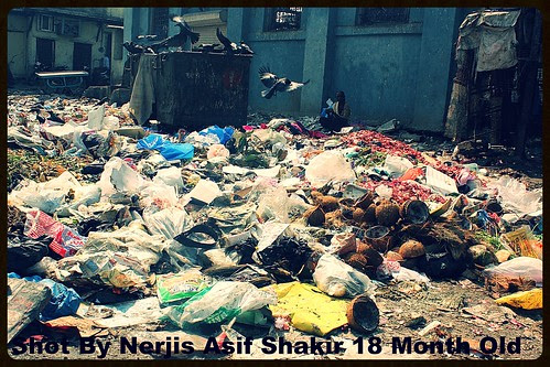 The Garbage Queen Of Bandra - Shot By Nerjis Asif Shakir 18 Month Old by firoze shakir photographerno1