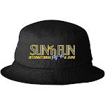 Sun 'N Fun Black Bucket Hat